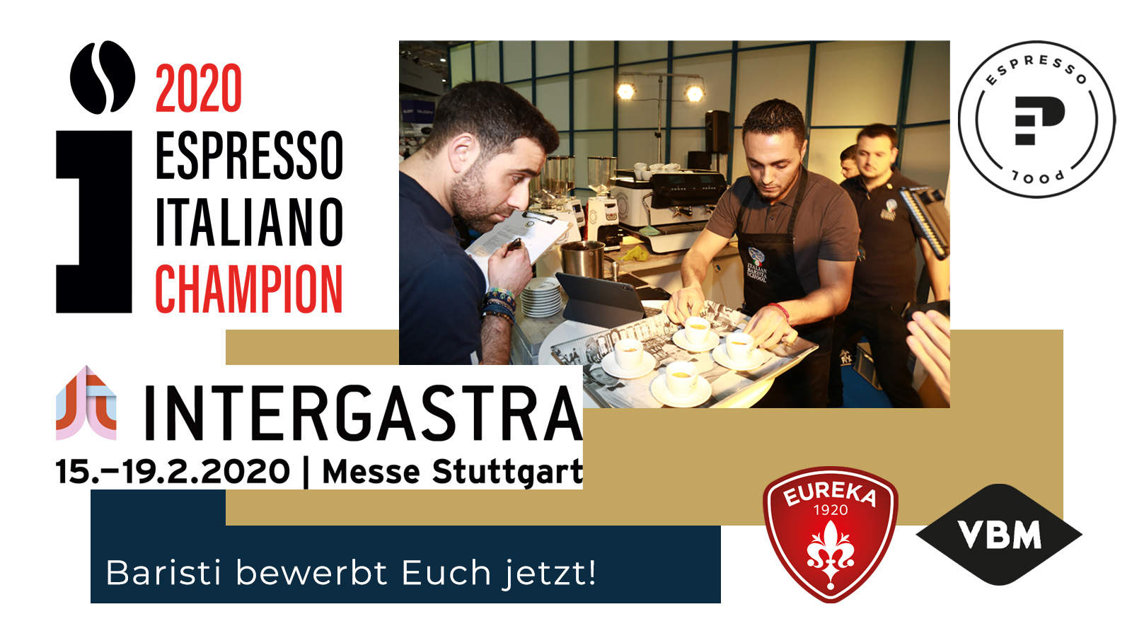 Anmeldung Espresso Italiano Barista Meisterschaft 2020