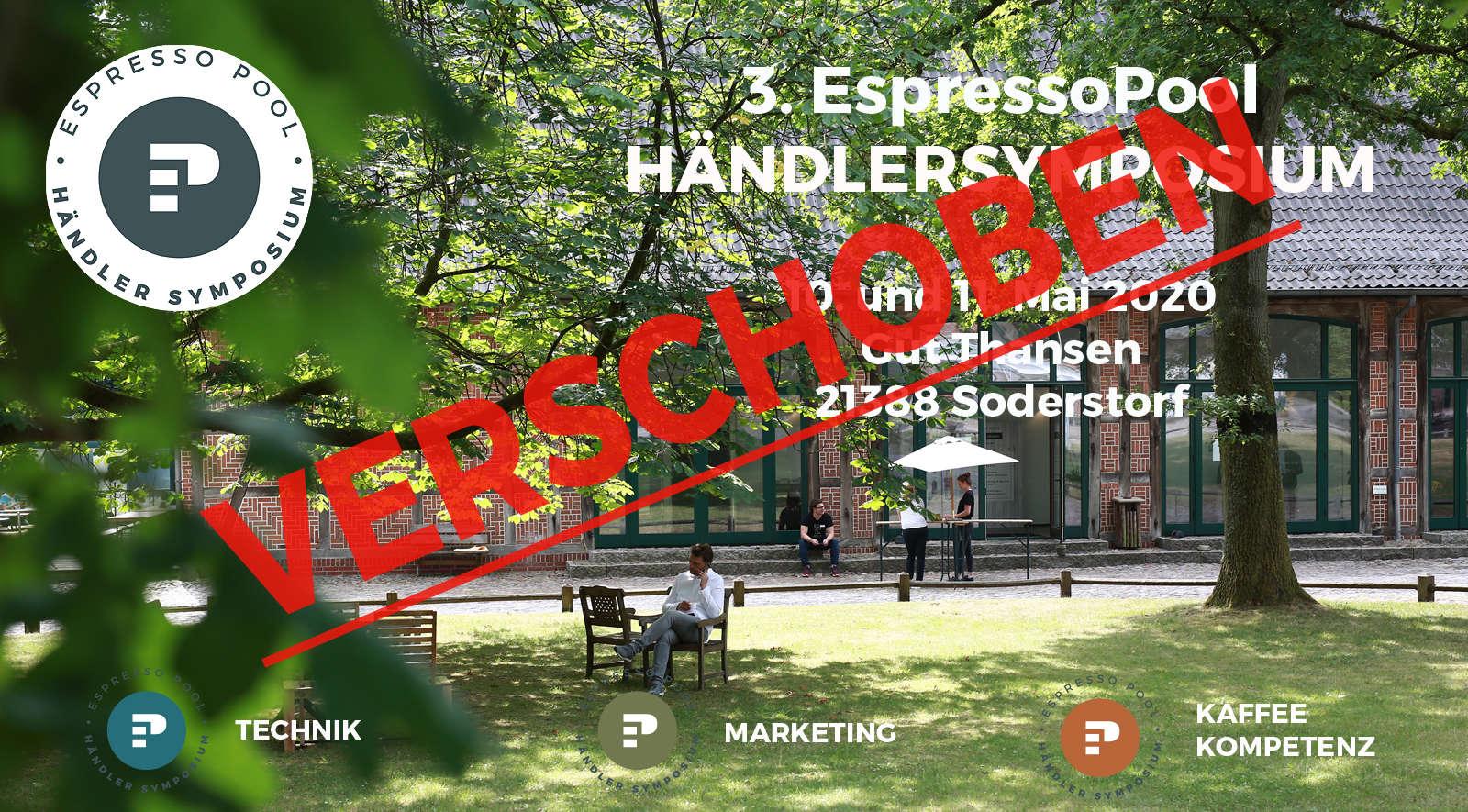 3. Espressopool Händlersymposium – WIRD VERSCHOBEN